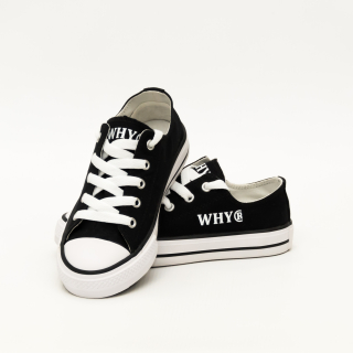 JUNIOR WHY SHOES B1 BLACK
